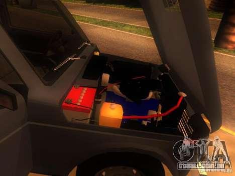 Vaz 2131 NIVA para GTA San Andreas vista traseira