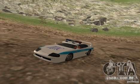 Jester Russian Police para GTA San Andreas