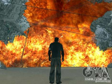 Salut v1 para GTA San Andreas sétima tela