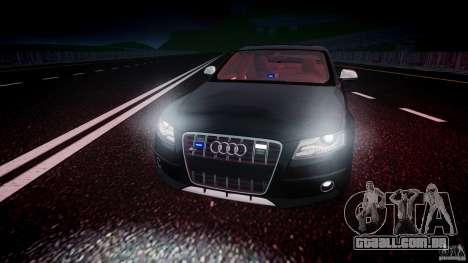 Audi S4 Unmarked [ELS] para GTA 4 vista superior