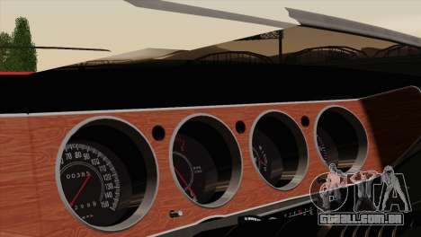 Plymouth Hemi Cuda 426 1971 para GTA San Andreas vista superior