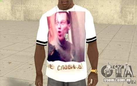 T-shirt: Exuberante Slavik para GTA San Andreas