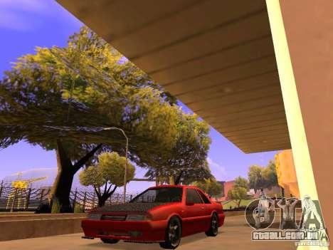 Previon GT para GTA San Andreas traseira esquerda vista