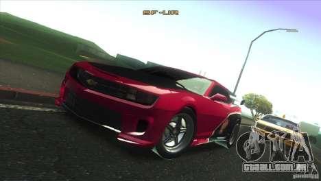Chevrolet Camaro SS Dr Pepper Edition para o motor de GTA San Andreas
