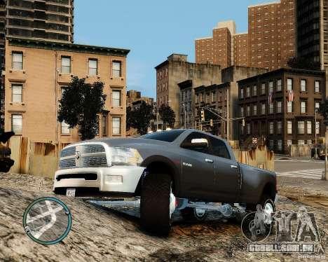 Dodge Ram 3500 Stock para GTA 4 esquerda vista