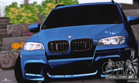 BMW X5M 2013 v1.0 para GTA San Andreas