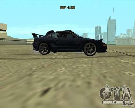 Toyota MR2 1994 para GTA San Andreas vista traseira