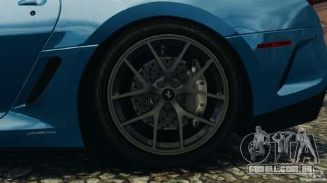 Ferrari 599 GTO 2011 para GTA 4 vista lateral