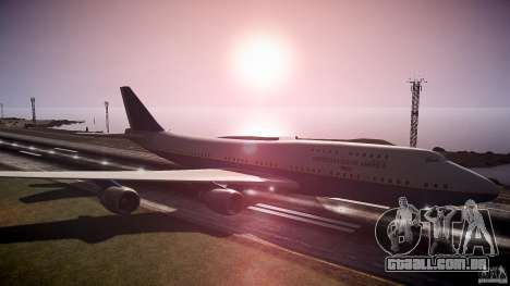 Air Force One v1.0 para GTA 4 vista direita