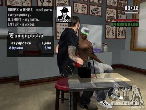 Novas tatuagens para GTA San Andreas terceira tela