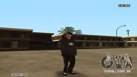 Los Santos Vagos para GTA San Andreas por diante tela