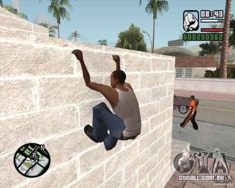 GTA 4 Anims for SAMP v2.0 para GTA San Andreas por diante tela