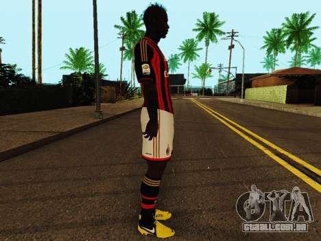 Mario Balotelli v1 para GTA San Andreas segunda tela
