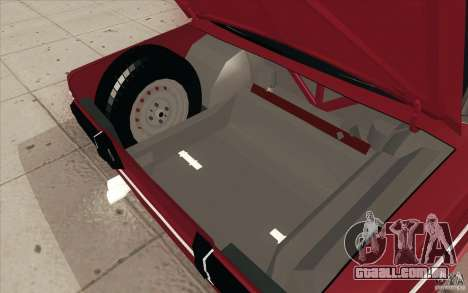 Lada VAZ 2106 para GTA San Andreas interior