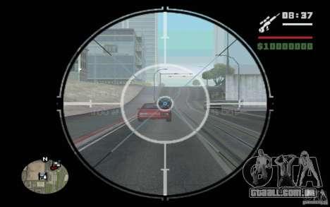 Sniper mod v 1. para GTA San Andreas terceira tela