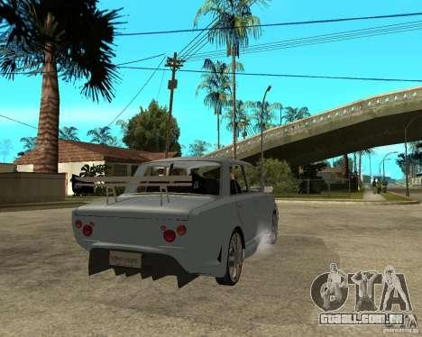 2101 VAZ carro TUNING por ANRI para GTA San Andreas traseira esquerda vista