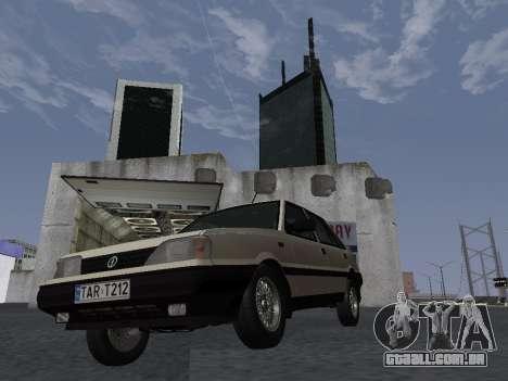 FSO Polonez Atu 1.4 GLI 16v para GTA San Andreas vista interior