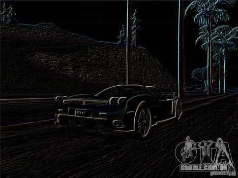 NegOffset Effect para GTA San Andreas por diante tela