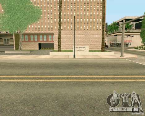 Novas texturas, Hospital Geral de todos os Santo para GTA San Andreas sétima tela