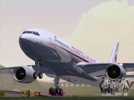Airbus A330-203 Air Algerie para GTA San Andreas