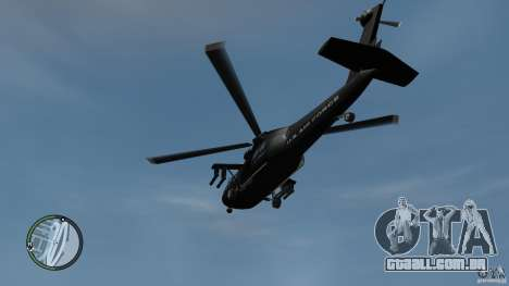 U.S. Air Force (annihilator) para GTA 4 vista direita