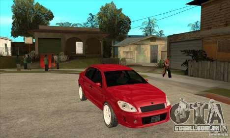 GTA IV Premier para GTA San Andreas vista traseira
