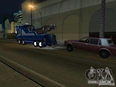 HOMEM F2000 (com roteiro de CLEO) para GTA San Andreas vista interior