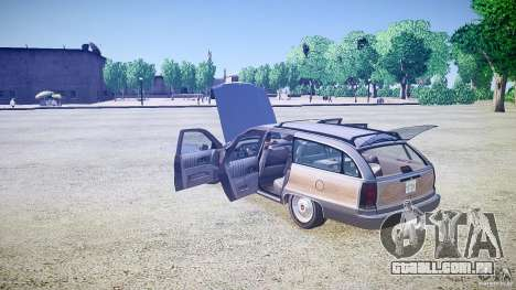 Chevrolet Caprice Civil 1992 v1.0 para GTA 4 vista superior