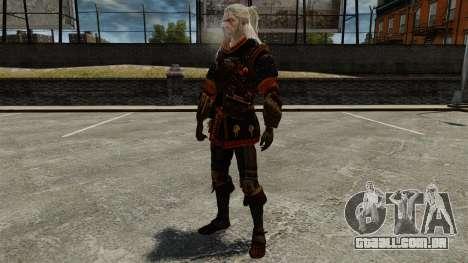 Geralt de Rivia v4 para GTA 4 quinto tela