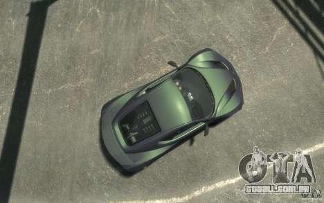 Zenvo ST1 2010 v2.0 para GTA 4 vista direita