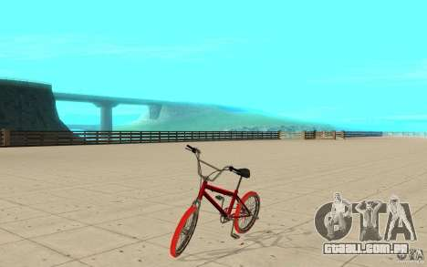 Zeros BMX RED tires para GTA San Andreas