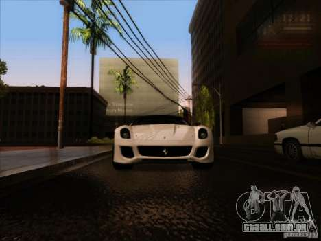 Sun Graphic Edition by KyIIuDoN para GTA San Andreas quinto tela