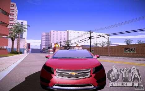 Chevrolet Volt para GTA San Andreas esquerda vista