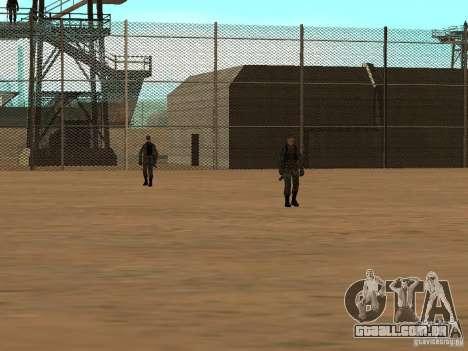 Animada área 69 para GTA San Andreas terceira tela