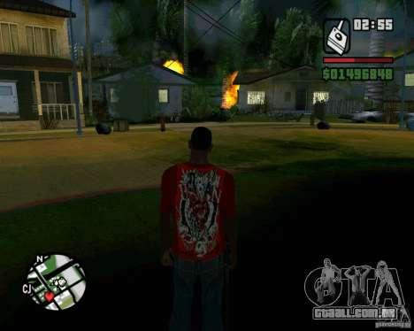Bomba para GTA San Andreas sexta tela