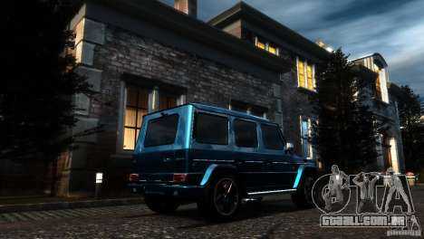 Mercedes-Benz G65 AMG [W463] 2012 para GTA 4 vista interior