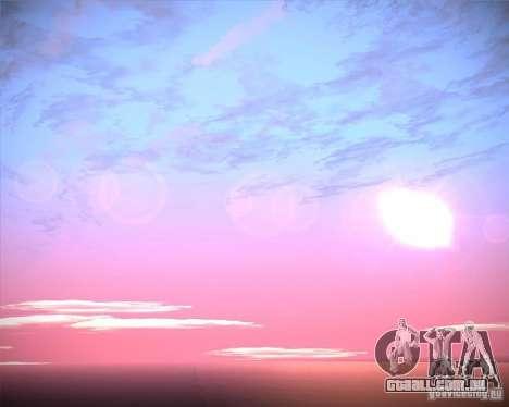 Real Clouds HD para GTA San Andreas twelth tela
