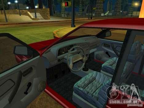 ВАЗ 2114 Touring para GTA San Andreas vista traseira