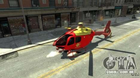 Medicopter 117 para GTA 4 esquerda vista