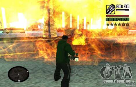 New Effects [HQ] para GTA San Andreas sexta tela