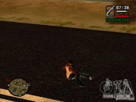 Lixo da explosão para GTA San Andreas terceira tela