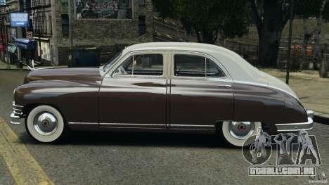 Packard Eight 1948 para GTA 4 traseira esquerda vista