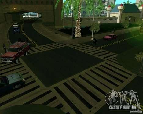GTA 4 Road Las Venturas para GTA San Andreas sexta tela