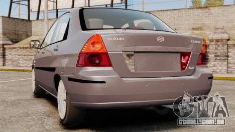 Suzuki Liana GLX 2002 para GTA 4