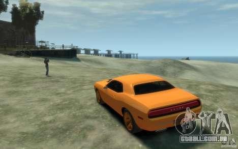 Dodge Challenger Concept para GTA 4 traseira esquerda vista