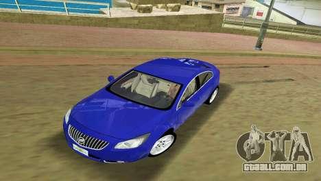 Buick Regal para GTA Vice City deixou vista