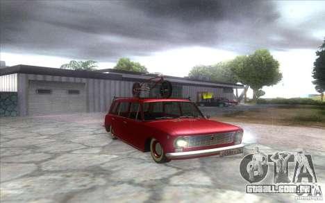 2102 VAZ retro para GTA San Andreas vista direita
