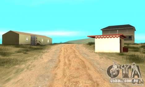 Área no deserto para GTA San Andreas