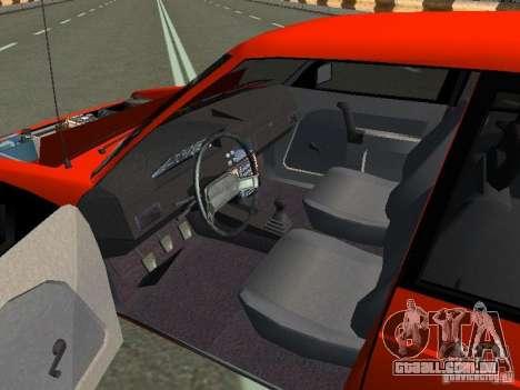 Azlk-2141 45 Sviatogor para GTA San Andreas vista traseira