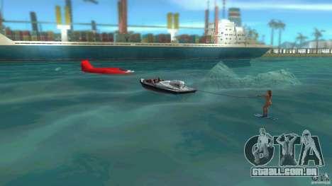 Ski Speeder para GTA Vice City vista traseira esquerda